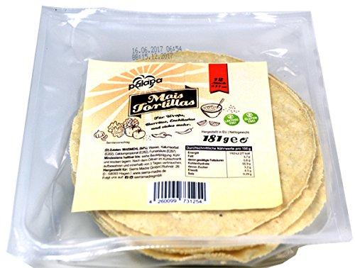 Palapa Tortilla frisch 14 cm, Beutel 12 Stück