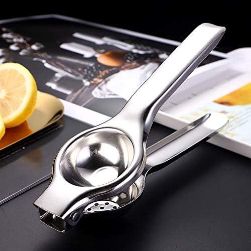 SHIyi-Exprimidor manual de limones, exprimidor manual de cítricos, exprimidor de cítricos de acero inoxidable,1pack 2pack