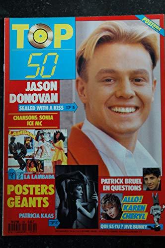 TOP 50 196 1989 JASON DONOVAN PATRICIA KAAS BRUEL KAREN CHERYL