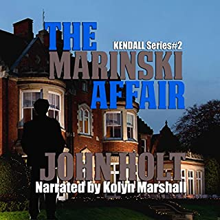 The Marinski Affair audiobook cover art