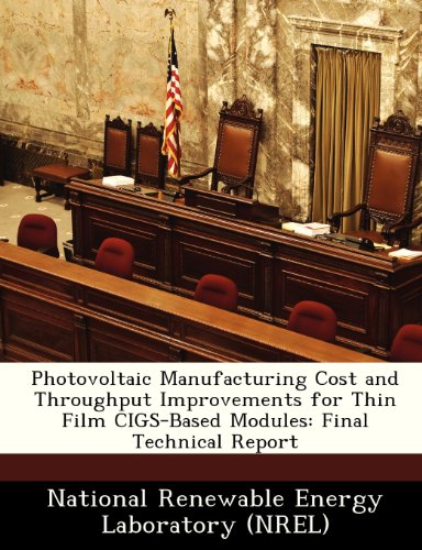 Photovoltaic Manufacturing Cost and Throughput Improvements for Thin Film Cigs-Based Modules: Final Technical Report