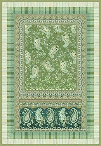 Bassetti ANACAPRI Plaid, Baumwolle, grün, 135X190