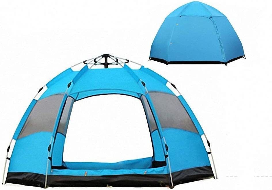 Free Shipping Cheap Bargain Gift TANKKWEQ Beach Tent Family Dceer Ranking TOP4 Double-L Automatic Multi-Person
