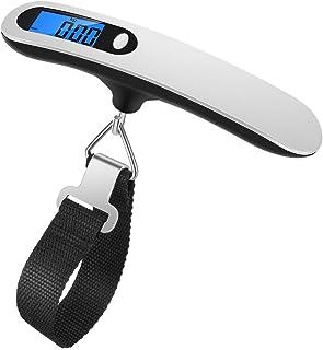 comprar comparacion Newdora Báscula Digital para Equipaje Escala del Equipaje Pesa Maletas Viaje Báscula Digital LCD Portátil Bascula para Mal...