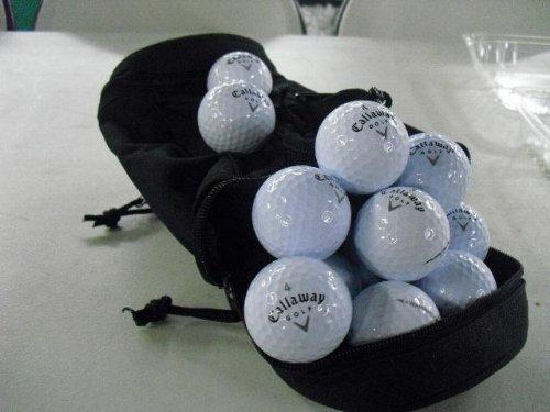 Near mint Zustand Dutzend gebrauchten Callaway Warbird Golfbälle