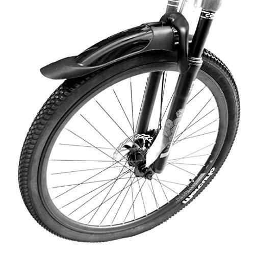 LUNATECCO - Juego de Salpicaderas Delantera y Trasera Guardafango para Bicicleta de Montaña Universal. Evita enlodarte en Tus Aventuras en Tiempos de Lluvia.