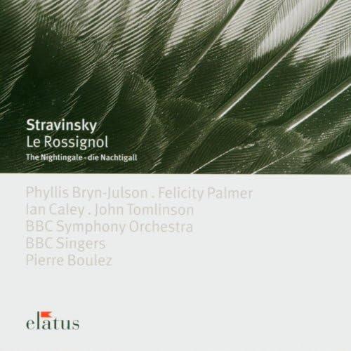 Phyllis Bryn-Julson, Felicity Palmer, Ian Caley, John Tomlinson, Pierre Boulez & BBC Symphony Orchestra