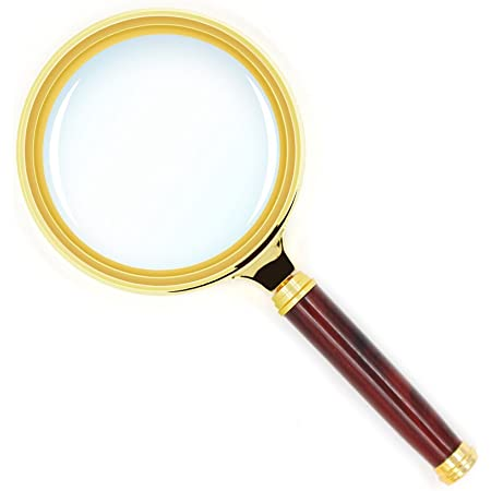 Antique English Horn Handled Magnifying Glass Looking Glass Magnifier Inspector Reading Aid Prop Desktop Gift c1910/'s  EVE de France