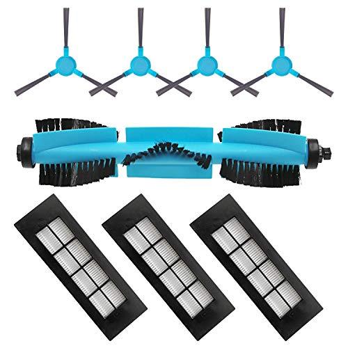 MIRTUX Kit de repuestos Esencial para Conga 3090. Pack de Accesorios de Recambio para Robots aspiradora Conga con cepillos y filtros.
