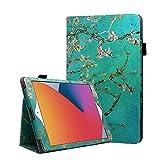 Coque iPad Air 1/2/Pro 9,7,FANSONG Bifold Série Housse Magnétique Ultra Mince PU Cuir Support à...