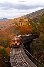RAILROADER NOTEBOOK TRAIN AND RAILWAY DOT GRID JOURNAL: 6x9 Inch Dot Grid Design Dairy for notes, todo-lists and sketches no limits for your creativity a perfect present idea for christmas or birthday
