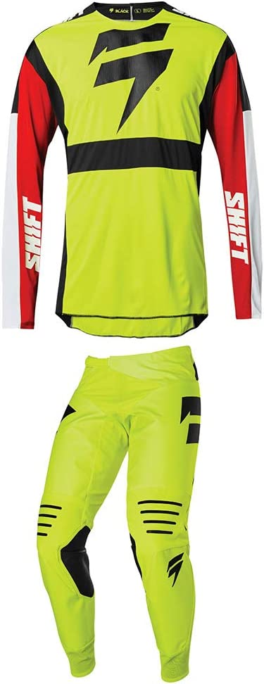 SHIFT Racing Black Max 86% OFF Label Race Pants 2X 2 Factory outlet Jersey 36