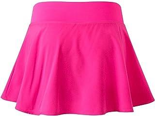 Sports skirt النساء المراهقات التنانير الرياضية تجريب رياضي Skorts نشط تشغيل تنورة التنس womens skirts (Color : Rose, Size...