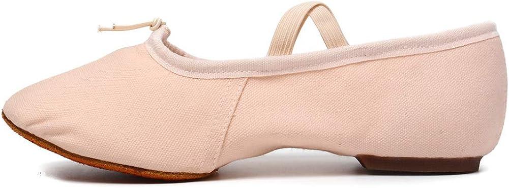 HIPPOSEUS Women's Latin Dance Shoes Low Heel Ballroom Latin Dance Practice Shoes Model U101