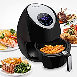 Best Air Fryer - Reviews & Buyer's Guide: NutriChef Electric Hot Air Fryer Oven With Digital Display