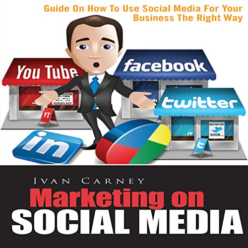 Marketing on Social Media audiobook cover art