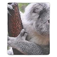 マウスパッド ノートパソコン オフィス用 ゲーム用 動物コアラ哺乳類 (180*220*3mm)防塵 耐久性 滑り止め 耐用