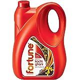 Fortune Kachi Ghani Pure Mustard Oil Jar, 5L