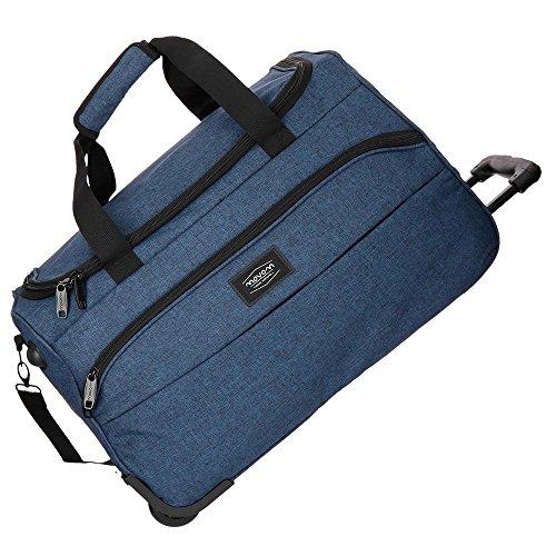 Movom Ottawa Travel bag Blue 55x34x33 cms Polyester 61.71L