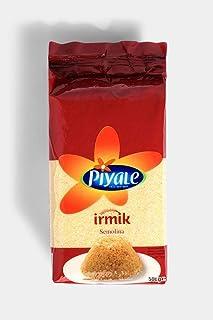 Piyale Turkish Semolina - Irmik 500 gr , 2 package , Vacuum bag