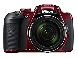The Nikon Coolpix B700 - Red