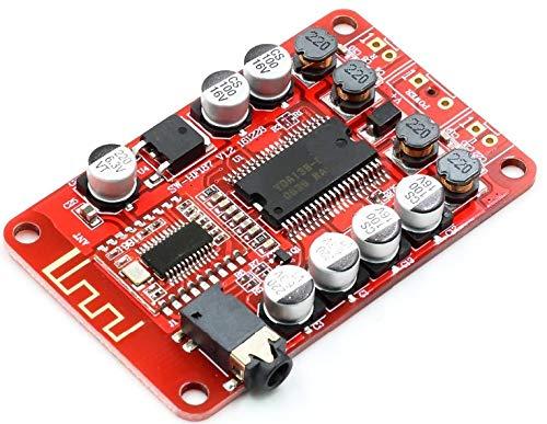 TECNOIOT YDA138 Bluetooth Amplifier Board Module 2.0 Stereo Class D 2 * 15W DC 12V 2A
