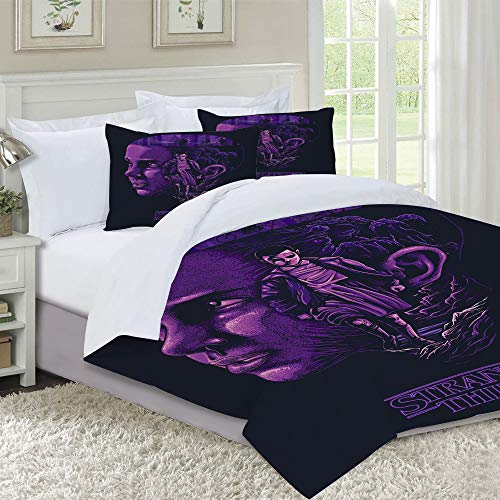 DIIRCYB Duvet Cover Set-Bedding,Stranger things,for Single Double King Bed/Made of Ultra-Soft Microfiber