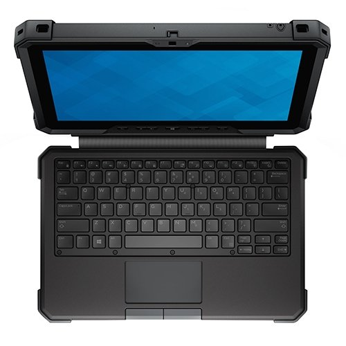 Dell Keyboard Cover with Kickstand for the Latitude 12 Rugged Tablet (Water proof and Customizable RGB backlight)