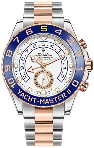 Fashion Shopping Rolex Yacht-Master II Oystersteel and Everose Gold Men's Watch 116681