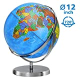 Best World Globes - World Globe 12 Inch Diameter Globe for Kids Review