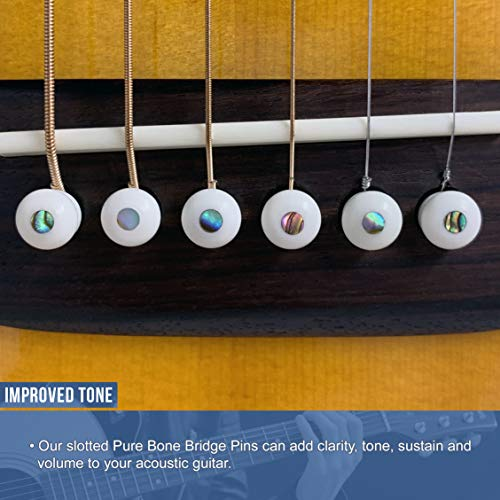 Clavijas para puente de hueso puro de Crosby Audio con ...