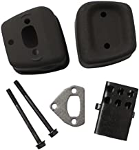 AP New Pack of Exhaust Muffler 1 Gasket 2 Bolts fit for Husqvarna 36 41 136 137 141 142 Chainsaw Accessories Replaces 545006044