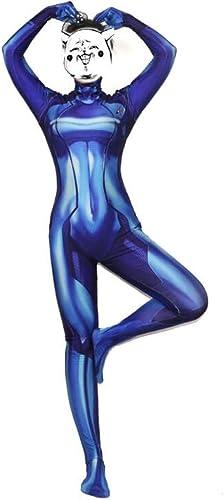 para proporcionarle una compra en línea agradable Super Super Super fantasia Galaxy Warrior Cosplay vestuario elástico Tight vestido de la película de Halloween Mostrar accesorios de vestuario accesorios de la película de disfraces ( Color   azul , Talla   XXXL )  entrega rápida