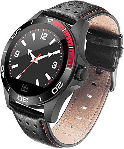 Reloj inteligente para hombre y mujer, pulsera deportiva, recordatorio de llamada, mensaje de empuje (color: negro) - negro