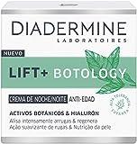 Diadermine - Lift+ Botology Crema De Noche, 50ml, Reduce arrugas en 4 semanas, Piel más joven y rellenada