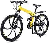 Bicicletas Eléctricas, Bicicletas de montaña for hombre de 26 pulgadas plegable bicicleta de la montaña, 27 velocidad de bicicletas de suspensión completa Bicicletas BTT Deportes macho y la hembra adu