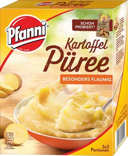7x Pfanni - Kartoffelpüree - 240g