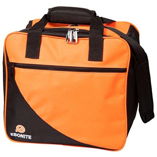 Ebonite Basic Single Bowlingtasche schwarz/orange
