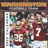 Washington Football Team 2022 Calendar: Calendar 2022 18-month from Jul 2021 to Dec 2022 in mini size 7x7