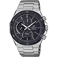 Sporty and latest design perfect for all men who enjoy sports! -The watch has a calendar function: Date, Solar Powered, Stop Watch, Luminous Hands High quality 21 cm length and 24 mm width Silver Stainless steel strap with a Fold over with push butto...