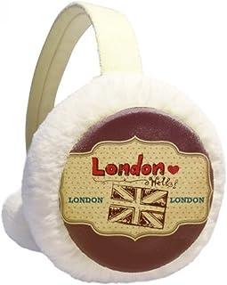 Skeleton Bone Human Foot Black Pattern Winter Earmuffs Ear Warmers Faux Fur Foldable Plush Outdoor Gift
