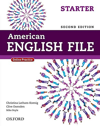 American English File Starter - Student Book - 02Edition: With Online Practice
