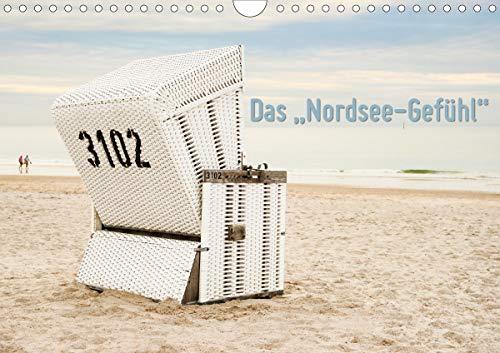 """Das\""""Nordsee-Gefühl\"""" (Wandkalender 2021 DIN A4 quer)"""