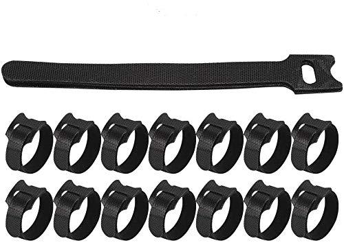 Dilwe Ataduras de Cables de Nylon, 100 Piezas 1,2 cm x 15...