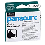 Panacur C Canine Dewormer Dogs 2 Gram Each Packet Treats 20 lbs (3...