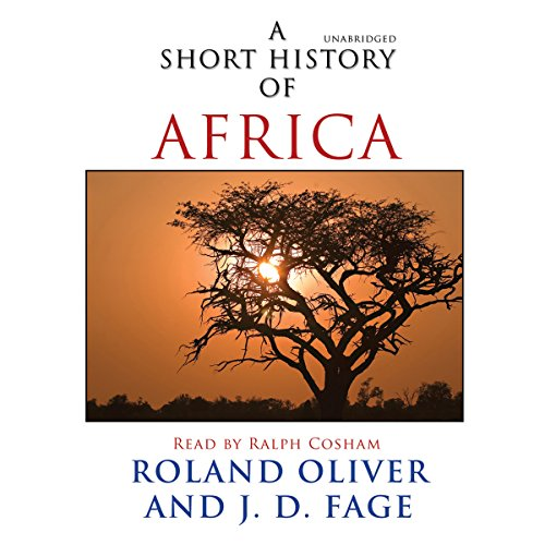 A Short History of Africa audiobook cover art
