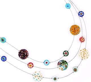 Best murano millefiori necklace Reviews