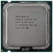 Intel Cpu Core 2 Duo E6600 2.40Ghz Fsb1066Mhz 4M Lga775 Tray