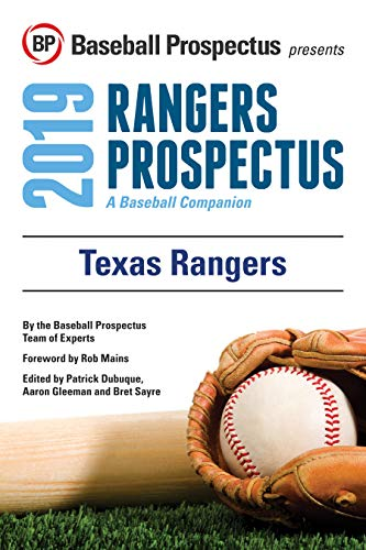Texas Rangers 2019: A Baseball Companion (English Edition)