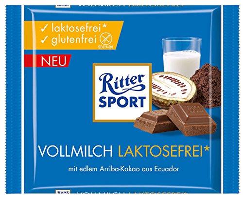 Ritter Sport Vollmilch Laktosefrei - 100g - 6x